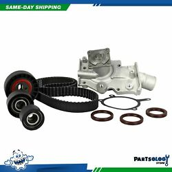 DNJ TBK413WP Timing Belt Kit Water Pump For 95-97 Ford Mercury 2.0L DOHC 16v