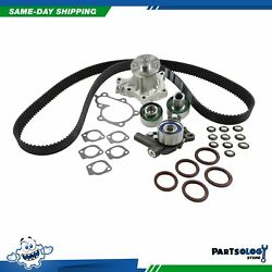 DNJ TBK630WP Timing Belt Kit Water Pump For 90-96 Nissan 300ZX 3.0L DOHC 24v