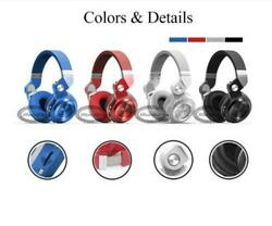 Bluedio Turbine 2 Plus Bluetooth Stereo Headset HeadphoneMic SD Slot For iPhone