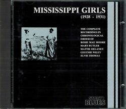 Mississippi Girls 1928-1931 Moore Butler DeLaney Wiley Thomas