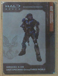 Kat Halo Reach Bungie Nobel Team. Metal Card Collectable  $10.00