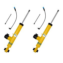 NEW Pair Set of 2 Rear Bilstein B6 Perf DampTronic Shocks For BMW Electro Susp