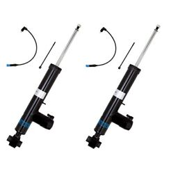 Pair Set of 2 Rear Bilstein B4 DampTronic Shock Absorbers For BMW Electro Susp