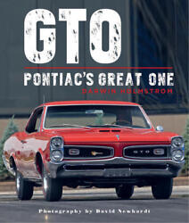 Gto Pontiacs Great One Holmstrom Large Oversized Book