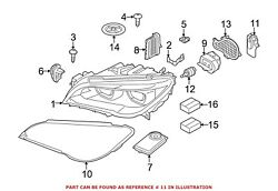 For BMW Genuine Turn Signal Light Bulb Front Left 63117339055