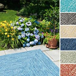 Ocean's Edge IndoorOutdoor Braided Reversible Rug USA MADE - 10' x 13'