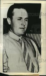 1938 Press Photo John Burns suspect in the murder of Charles Daughtry