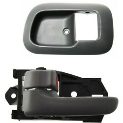 Interior Door Handle Kit For 1998-2003 Toyota Sienna Front Left 2Pc