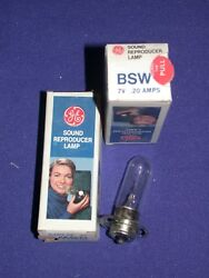 GE BSW 7V 2.0A PROJECTOR SOUND REPRODUCTION LAMP NOS IN BOX $9.50