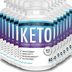 Keto Ultra Diet - Advanced Weight Loss - Ketosis Supplement (12 Month Supply)