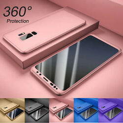 For Samsung Galaxy S9 S7 S8 S10 Plus 360° Full Body Hard CaseScreen Protector $4.98