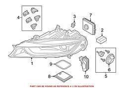 For BMW Genuine Headlight Front Right 63117446814