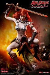 (US) 16 TBLeague PL2017-93 Red Sonja Scars of the She-Devil 12