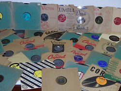 Great Lot of (24) 78 RPM 10
