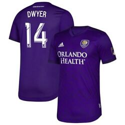 Dom Dwyer Orlando City SC adidas 2019 Bring The Noise Authentic Player Jersey -