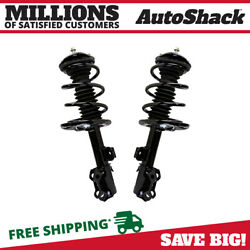 Front Pair (2) Complete Strut Assembly wCoil Spring Fits 2006-2012 Toyota RAV4