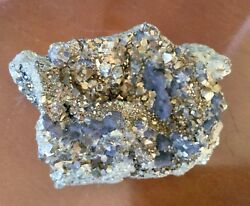 COLLECTORS PYRITE CRYSTAL NATURAL FOOLS GOLD 1 LB 6 Oz BRAZIL $88.00
