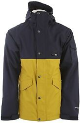 HOLDEN SNOW Men#x27;s EVERGREEN Snow Jacket Peacoat Antique Moss Large NWT $165.00