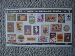 Plus Model 1 35 Commercial Signs amp; Placards 1930#x27;s