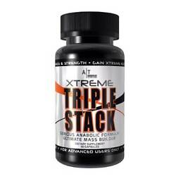 Anabolic Technologies XTREME TRIPLE STACK Ultimate Lean Mass Builder 60 Capsules