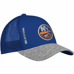 New York Islanders Adidas NHL Start Of Season Mesh Adjustable Hat Cap Snapback