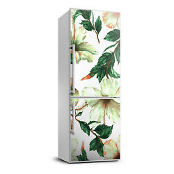 3D Refrigerator Wall Kitchen Removable Sticker Flowers Plants hibiscus $79.00