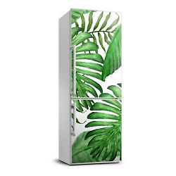 3D Refrigerator Wall Kitchen Removable Sticker Flowers Tropical leaves $59.00