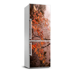 3D Art Refrigerator Wall Kitchen Removable Sticker Magnet Flowers Autumn leaves $59.00