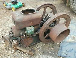 Canfield Supply Co Kingston NY 5 HP Hit or Miss Engine 425 RPM it turns
