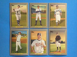 2009 Topps TURKEY RED complete Set  #1-50  . BABE RUTH , MIGUEL CABRERA , VOTTO $49.99