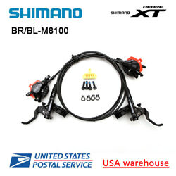 SHIMANO XT BLBR-M8000 M8100 Hydraulic Disc Brake Set Levers Pair FrontRear OE