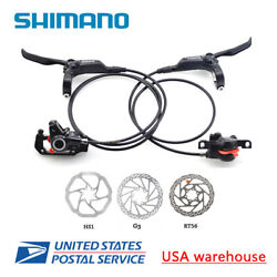 SHIMANO BR-BL-M355 M365 MT400 MT420 Hydraulic Bicycle Disc Brake Set F