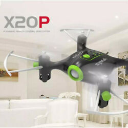 Syma X20P 2.4G Mini Pocket Drone RC Quadcopter Altitude Hold Headless Gift $27.59