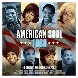 AMERICAN SOUL 1960 NEW 2CD DONNIE ELBERTSAM COOKEARETHA FRANKLINJERRY BUTLER