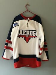 Edson Aeros Signed Hockey Jersey - William Andersson