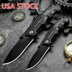 USA 57HRC Folding Knife Tactical Quick Open Assisted EDC Smith Knives Karambit