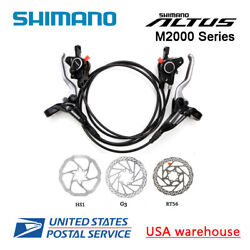 2019 New SHIMANO Altus BR-BL-M365 Hydraulic Disc Brake Set MTB F