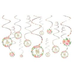 Floral Baby Shower Girls Decorations amp; Supplies $5.10