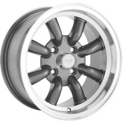 *CUSTOM* Konig Rewind 15x7 4x100 +40mm Gunmetal Wheels Rims RW75100406