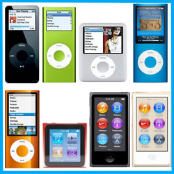 Apple iPod Nano 1st 2nd 3rd 4th 5th 6th 7th 8th Generation 1GB 2GB 4GB 8GB 16GB $42.95