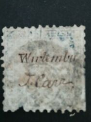German states stamps # wurttemberg 1863 signed very rare