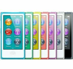 Apple iPod Nano 7th 8th Generation 16GB Gold Blue Silver Gray Black Purple Pink $137.95