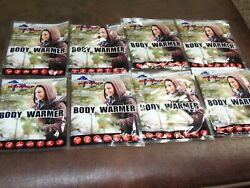 8 PACKS  Great Lakes BODY Warmers   THESE WORK GREAT  FREE SHIPPING   APO-40 $14.96