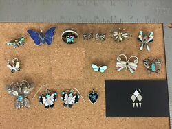 Vintage Sterling Silver Butterfly Jewelry Lot 1 - Sold Individually on Req.