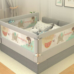 To Happy 2M1.8M Universal Baby Bed Rail Safety Guardrail Use Bed Fence