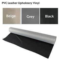 Marine Vinyl Faux Leather Fabrics Re-Upholstery Auto Outdoor Home Furniture 54