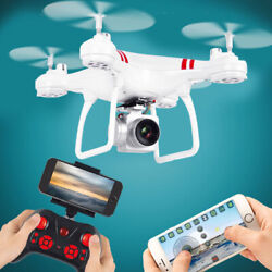 Explorers 2.4Ghz 4CH RC Quadcopter FPV Drones with HD Camera 3D Flips APP $34.07