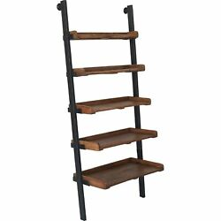 Renwil Bordo Natural Mango Wood and Antique Black Iron Shelf