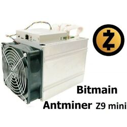 Antminer Z9 Mini with APW3 PSU - 13.5 ksols (can be overclocked) $450.00