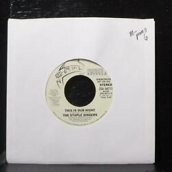 The Staple Singers–This Is Our Night Mint- Promo 7